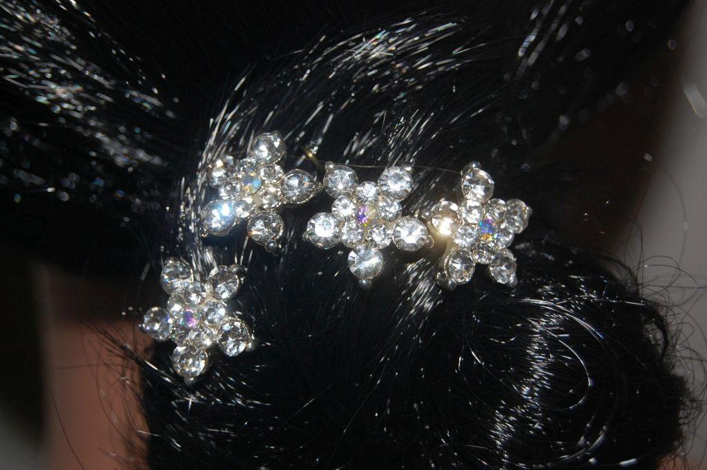 Conjunto 4 horquillas bella estrella